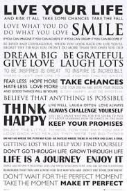 Live Your Life Quotes Mesmerizing Live Your Life Inspirational Quotes Poster 48x48 BananaRoad