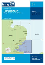 Todd Chart Imray Chart C1 Thames Estuary Todd Navigation