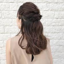 学校でもokな可愛い髪型のヘアアレンジ24選ロングミディアムボブ Belcy