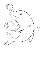 Dolphin Coloring Pages Printable Dolphin Pictures To Color Dolphin
