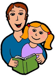 Image result for children reading with parents