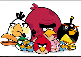The gang | Angry bird pictures, Angry birds stella, Angry birds movie