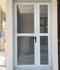 double glazed thermal break aluminium casement glass door with german roto hardware acd 024