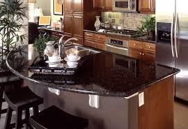 dark granite countertop kitchen design