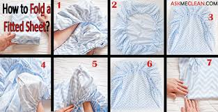 fold fitted sheet how to fold a fitted sheet