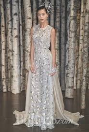 sparkling glittering silver wedding gowns