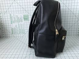 Coach Park Leather Backpack Brown