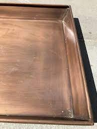 smith hawken garden tray copper color