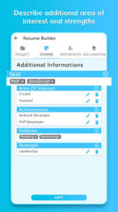 Free Resume Builder Professional Cv Maker For Android