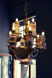 teacup chandelier teacup chandelier teacup chandelier with spoons