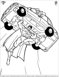 Small Picture Superman Coloring Pages Coloring Library