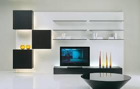 ... Shelving Living Room Modern With Dark Maple Wood Floors  Homemydesign.com Californiamarkt.com ...