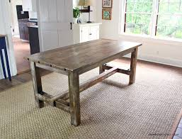 historically farm tables were very basic in design with planked tops and square legs all cut and built using very primitive tools