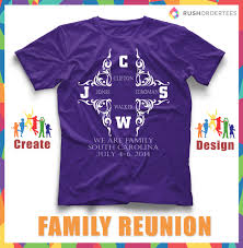 T Shirt Layout Design For Family Reunion Elegant Design For A Family Reunion T Shirt Create