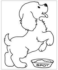 Idea 20 Cagnolino Da Colorare Disegni Per Bambini Aestelzer