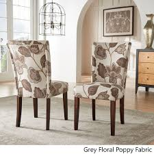 catherine print parsons dining side chair set of 2 by inspire q bold on ships to canada overstock ca 8551271