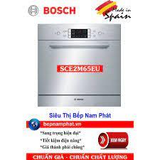 Máy rửa bát loại nhỏ 8 bộ Bosch SCE52M65EU lắp bán âm nhập khẩu Tây Ban Nha