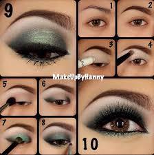 green eye shadow for brown eyes
