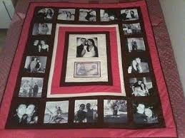 Deposit For A Custom Memory Quilt T Shirts Baby Clothes Memorial ... & Photo Memory Quilts Some Great Ideas Here Memory Blankets Quilts Adamdwight.com