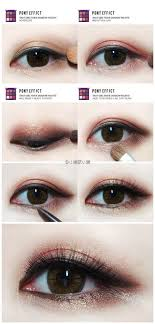 eye make up step smokey eye makeup for hooded or asian eyes