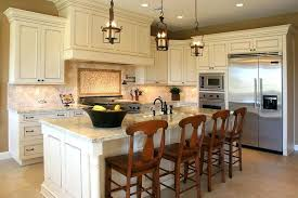 french country white kitchen cabinets enclosed kitchen
