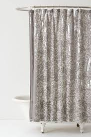 anthropologie silver burnished shower curtain 128 available at anthropologie