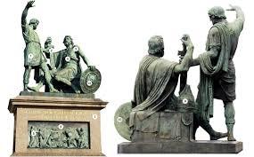 памятник минину и пожарскому кто и как изображён Themorningspb
