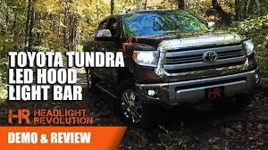 Tundra Night Rider Light Toyota Tundra Led Hood Light Bar Nsv Knight Rider For 2014 Headlight Revolution