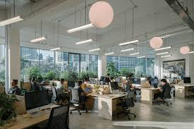 red bull consolidated offices. Airbnb Office Singapore. Reception Open Pods Collaborative Space Singapore Red Bull Consolidated Offices U