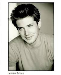 very young Jensen headshot--wonder if an old resume is printed on the back