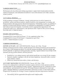 19 Free Actuary Analyst Resume Samples Sample Resumes