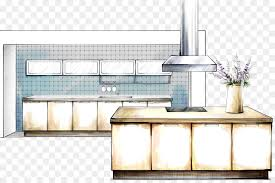 interior design hand drawings. Interior Design Drawing Services Kitchen Sketch - Hand-painted Renderings Hand Drawings L