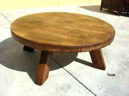 36 inch coffee table round