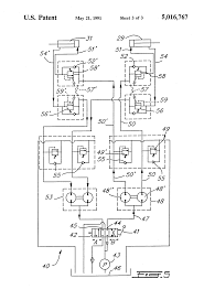 patent us5016767 boom articulation mechanism patent drawing