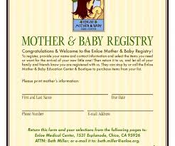 Photo  Baby Shower Registry Checklist ImageRegistry Baby Shower