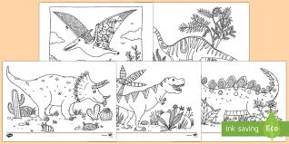 The coloring pages are printable and can be used in the classroom or at home. Coloring Sheets Dinosaurs Ks1 Primary Resources