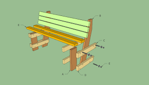 full size of bench how to build an outdoor bench with back simple garden bench