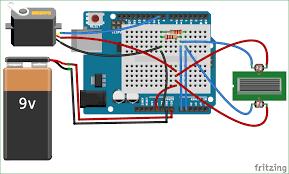 arduino solar panel tracker using ldr circuit diagram