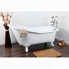 Vintage Slipper 61-inch Cast-iron Clawfoot Tub with 7-inch Drillings - Free  Shipping Today - Overstock.com - 13402511