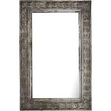 mirror zanui. rectangular wide metal cutout mirror zanui n