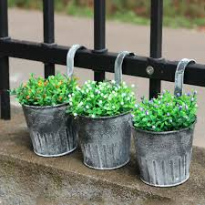 hanging hook wall garden flower pots