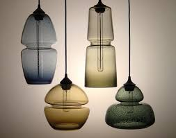 these hanging lights feature an embedded groove that offers a precise machine made quality