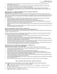supply chain resume sample