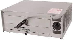 global solutions gs1015 1450 watt electric countertop pizza oven single deck