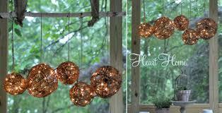 sreen porch chandelier