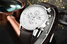 ailang brand simple fashion casual business watches men waterproof ailang brand simple fashion casual business watches men waterproof date leather strap quartz mens watch clock