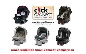graco snugride model comparison graphic