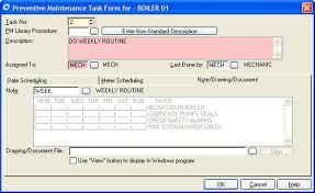 Cogz Preventive Maintenance Software Daily Work Order Generation