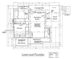 floor plan of a house with dimensions. Lower Level Floor Plan Of A House With Dimensions
