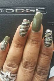 Camouflage nail design   Nails   Pinterest   Camouflage nails ...